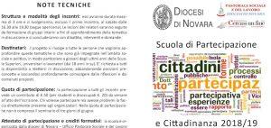 Scuola di partecipazione e cittadinanza
